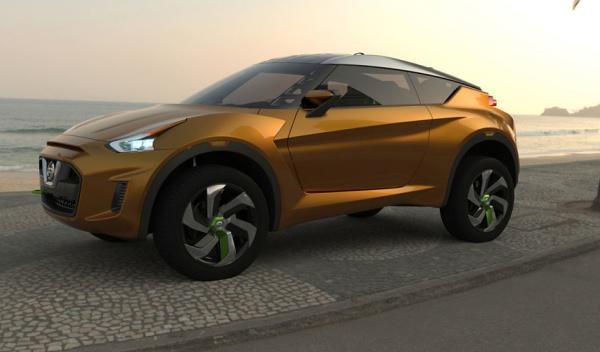 Frontal del Nissan Extrem