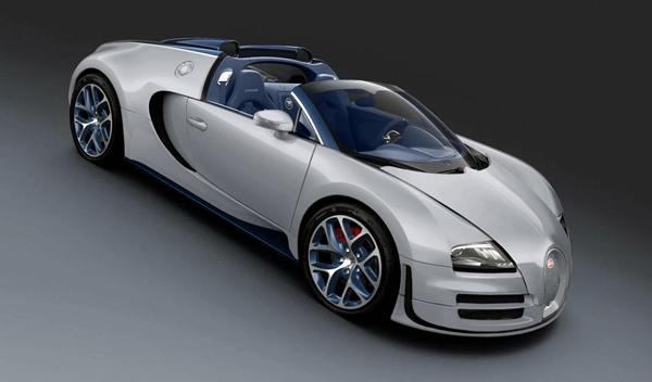 Bugatti Veyron Grand Sport Vitesse Rafale Special Edition