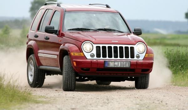 Jeep Cherokee II frontal