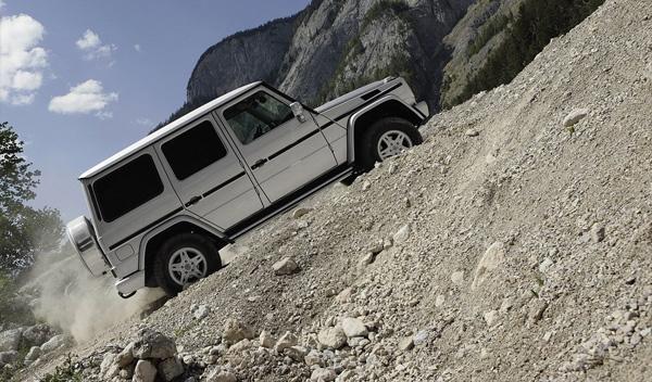 Cómo destrozar un Mercedes Clase G en un segundo