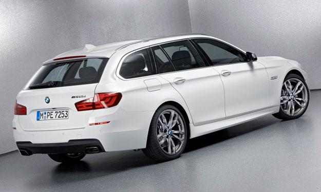 Fotos espías del BMW Serie 5 Touring 2013