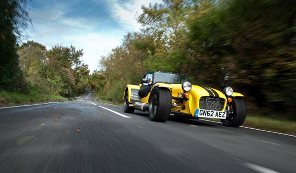 Caterham Supersport R frontal dinámica