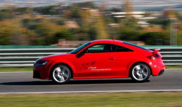 Prueba Audi TT RS Plus dinámica
