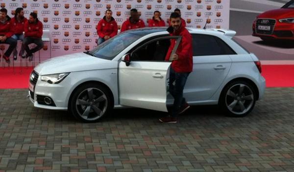 Audi A1 sportback villa Entrega audi jugadores barcelona temporada 2012/2013