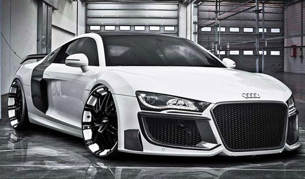 Audi R8 by Regula Exclusive estática frontal