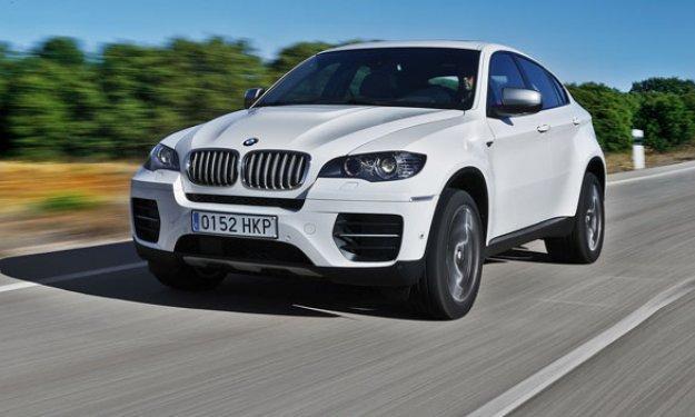 Vídeo: un BMW X6 M, a tope