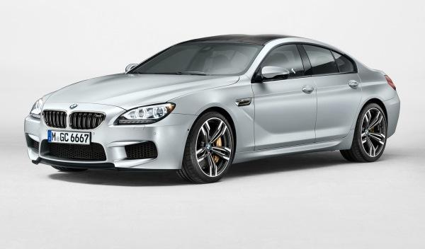 BMW Serie 6 Grand Coupe frontal