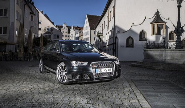 Audi RS4 Avant ABT frontal estática