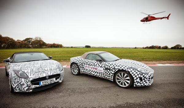 Vídeo: el Jaguar F-Type, puesto al límite por tres pilotos