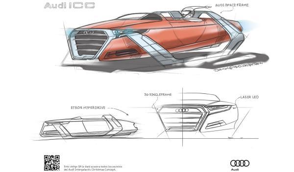 Audi ICC, el trineo intergaláctico de Santa Claus