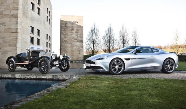 Aston Martin cumple 100 años: numerosos actos en 2013