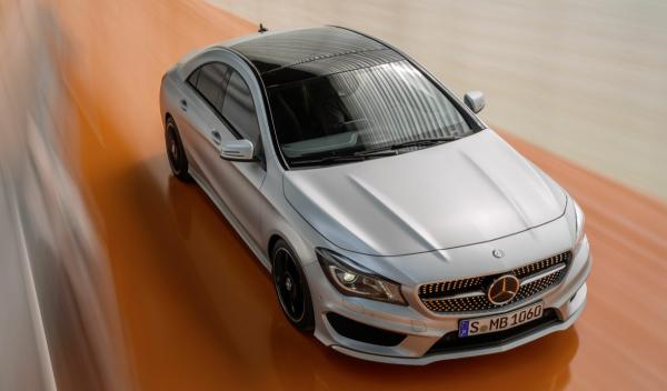 Mercedes CLA frontal