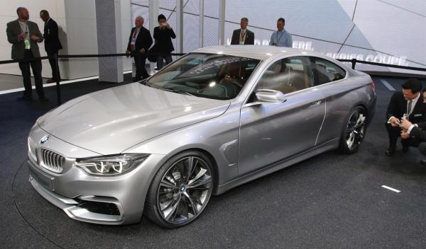 BMW Serie  4 Coupé Salón Detroit