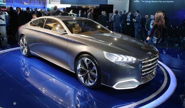 Hyundai HCD-14 Genesis Salón de Detroit 2013