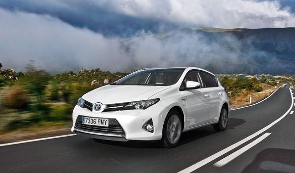Toyota Auris Hybrid dinámica frontal