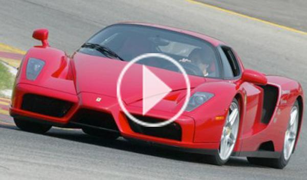 Un Ferrari Enzo convertido en coche de rallys