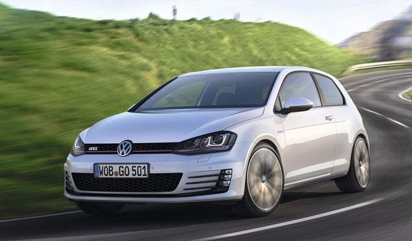 Volkswagen Golf GTI 7 dinámica delantera