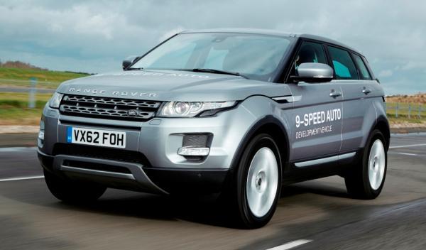 Land Rover montará un nuevo cambio automático de 9 marchas