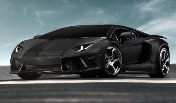 Lamborghini Aventador, delantera