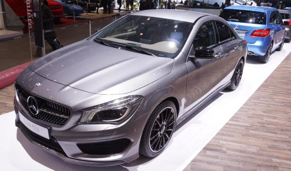 Filtradas las fotos oficiales del Mercedes CLA 45 AMG