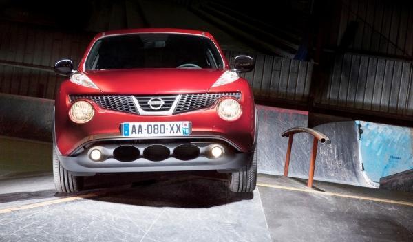 Nissan Juke n-tec, frontal