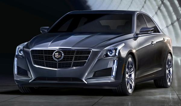 Cadillac CTS 2014 frontal