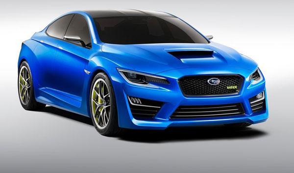 Subaru WRX Concept 2013 frontal