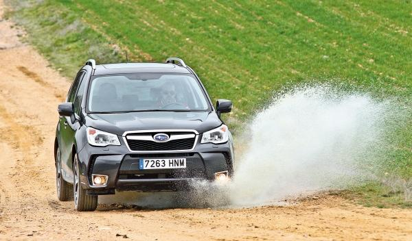 Subaru Forester 2013 frontal