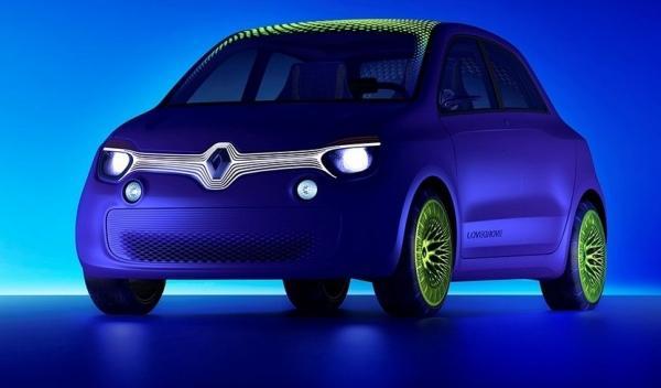 Delantera del Renault Twin-Z Concept