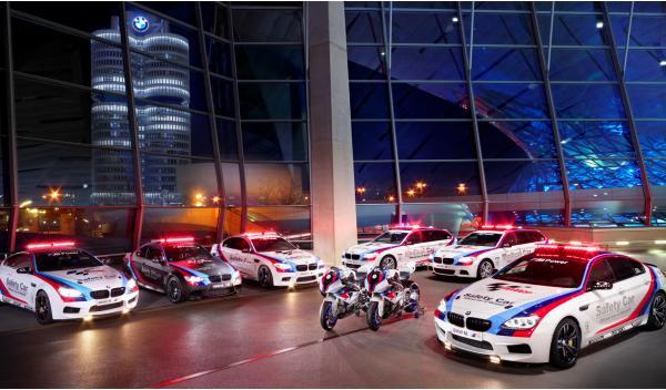 BMW M6 Gran Coupé, Safety Car oficial de Moto GP 2013