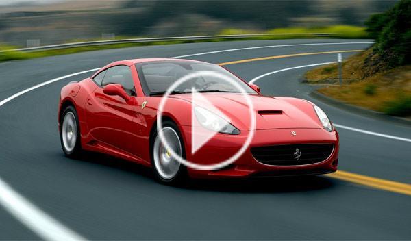 El Ferrari California turbo, rodando en Fiorano