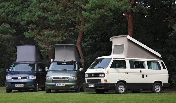 Volkswagen California t3, t4 y t5
