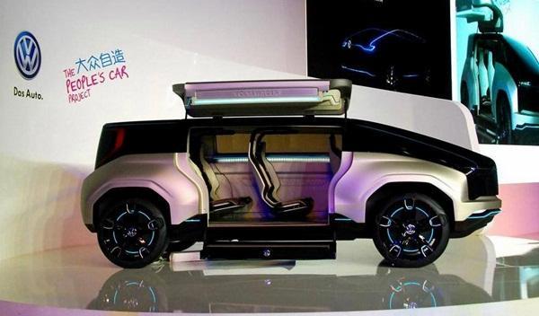Volkswagen 4Fun Concept: el nuevo coche para el pueblo