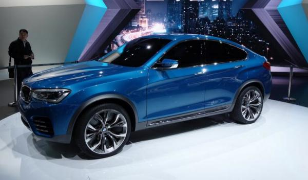 BMW Concept X4 Salón Shanghai 2013
