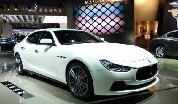 Maserati Ghibli Salón Shanghai 2013