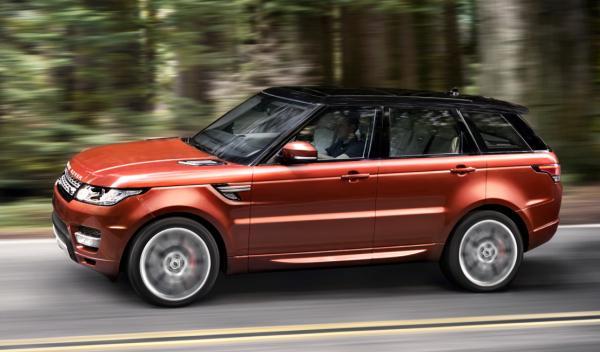 nuevo Range Rover Sport lateral