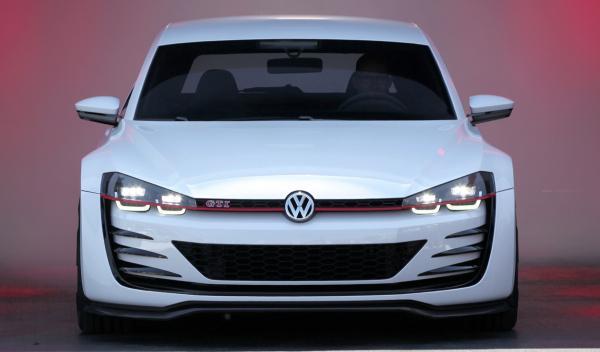 Volkswagen GTI frontal