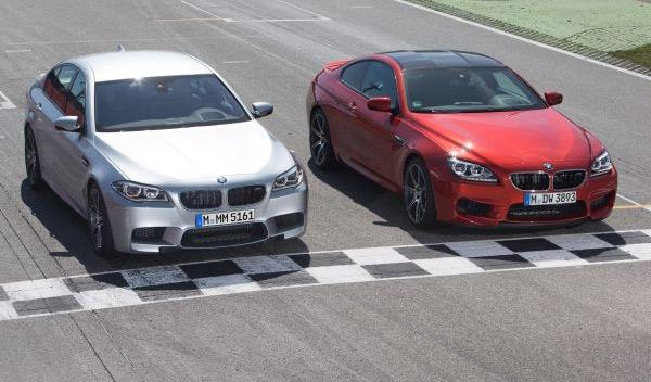 BMW M6 y M5 Competition Package
