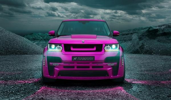 Hamann Mystère Range Rover 2013 oficial frontal