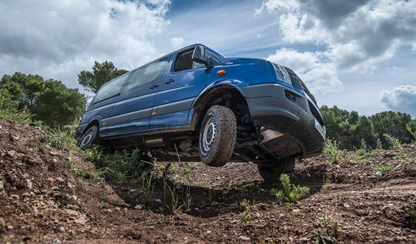 Volkswagen Crafter 4Motion delantera