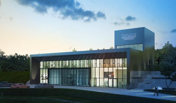 Nuevo centro de pruebas de Hyundai en Nürburgring