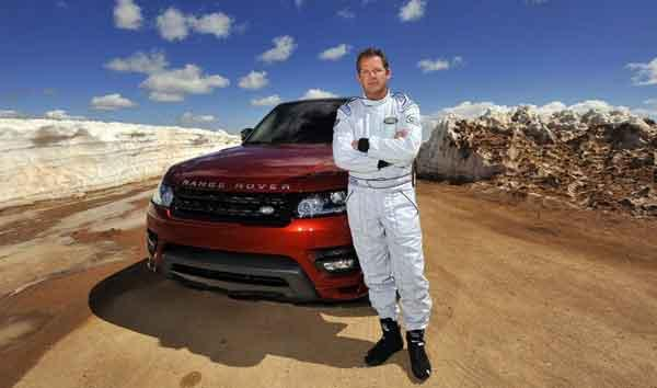 El Range Rover Sport bate un récord en la subida Pikes Peak