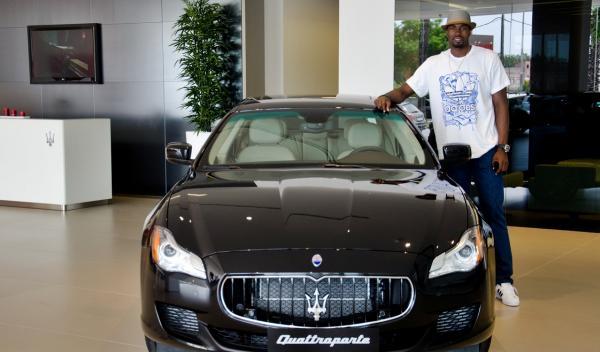 Maserati Quattroporte GTS Ibaka