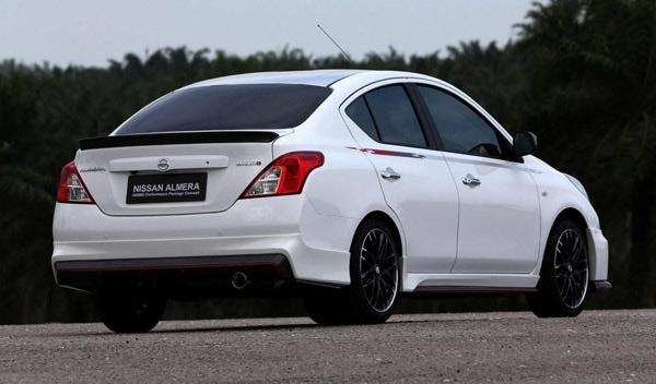 Nissan Almera Nismo Performance Package trasera