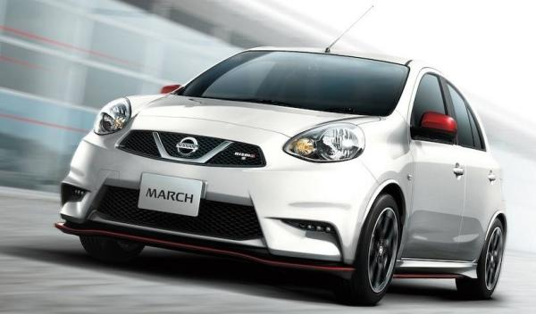Nissan Micra Nismo frontal