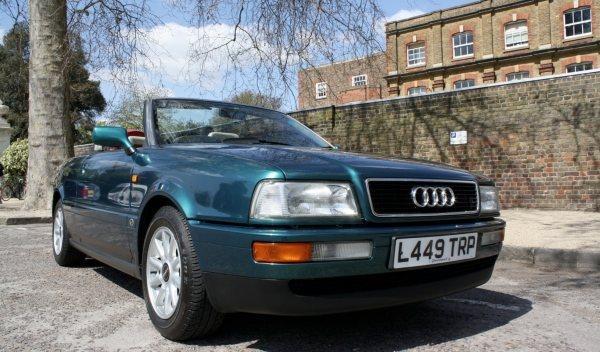 A subasta el Audi Cabrio de la Princesa Diana