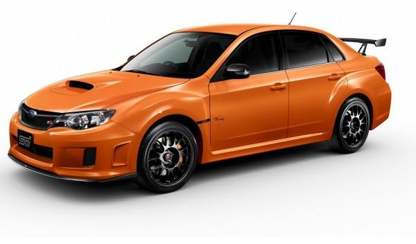 Subaru WRX STI TS Type RA delantera