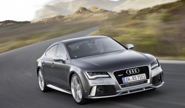 Audi RS7 3/4 delantera dinámica