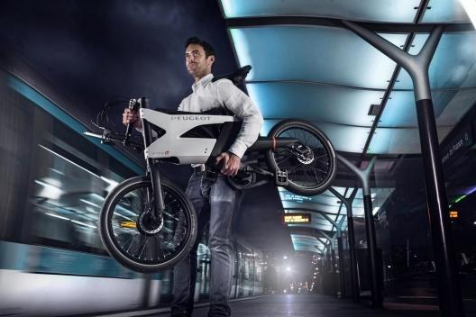 Hybrid bike AE21, la nueva bicicleta eléctrica de Peugeot