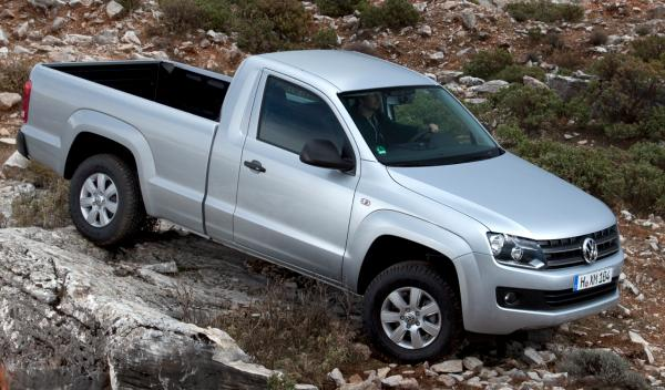 Volkswagen Amarok Cabina Simple frontal